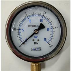 耐震压力表-YN