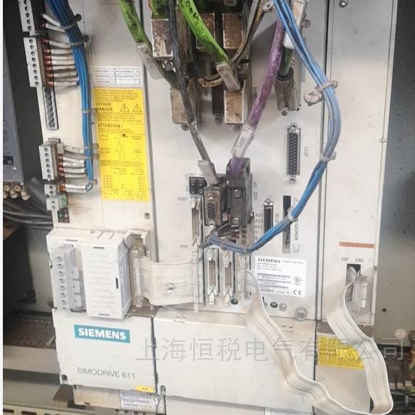 修好可测西门子数控系统NCU数码管显示1