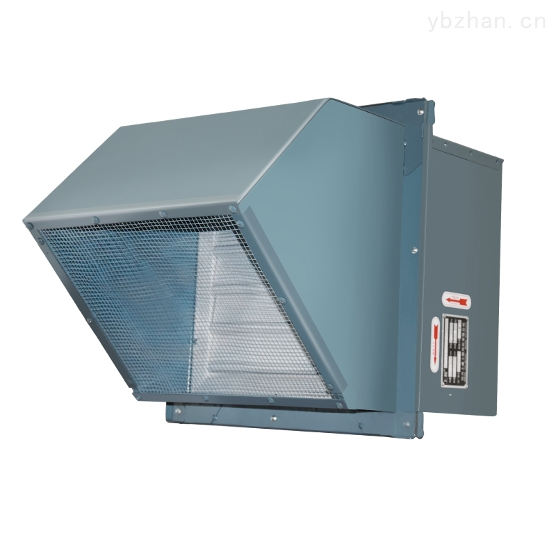 FWEXD-450D4玻璃钢防腐边墙式轴流风机
