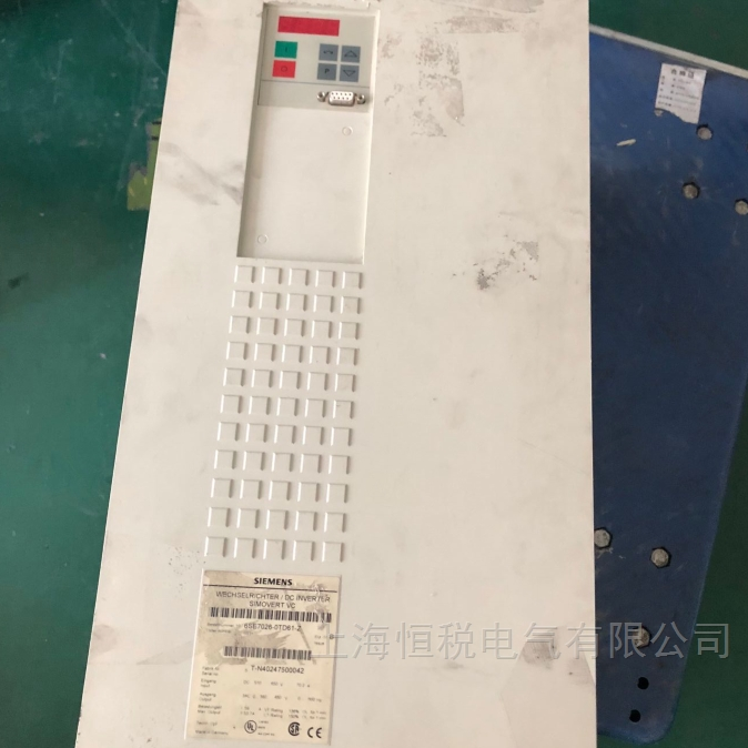 西门子6SE70变频器报F017、F018故障