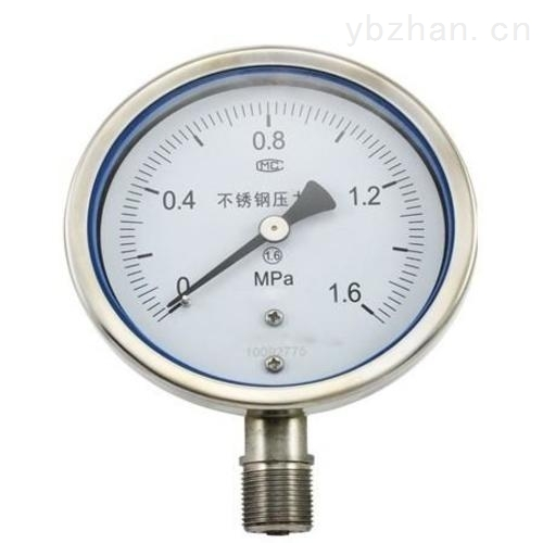 优质全不锈钢耐震压力表
