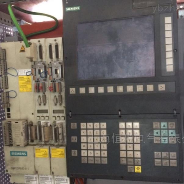 西门子数控系统802D软件和键盘失灵修好可测