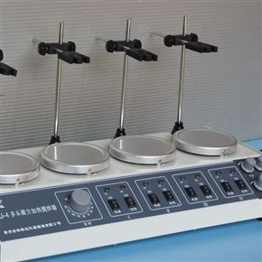 CJJ-4A数显恒温多头磁力加热搅拌器