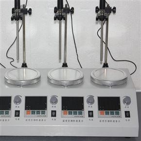 HJ-4A数显恒温多头磁力搅拌器