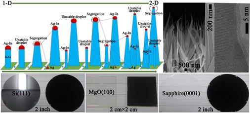 晶圆级高质量InAs纳米结构的维度调控研究取得进展
