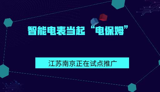 """智能電表當起""""電保姆""""! 江蘇南京正在試點推廣"""