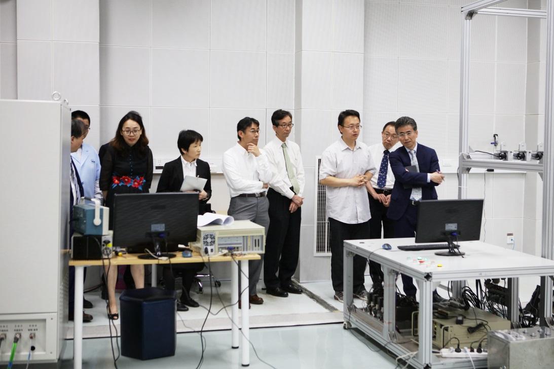 中日計量院院長會在京舉行