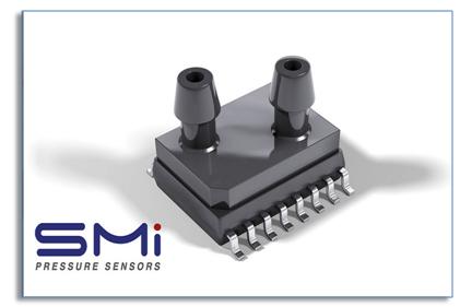 SMI推出高精度、超低量程的压力传感器