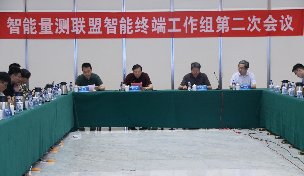 智能量测联盟智能终端工作组(SMI-02)第二次会议召开