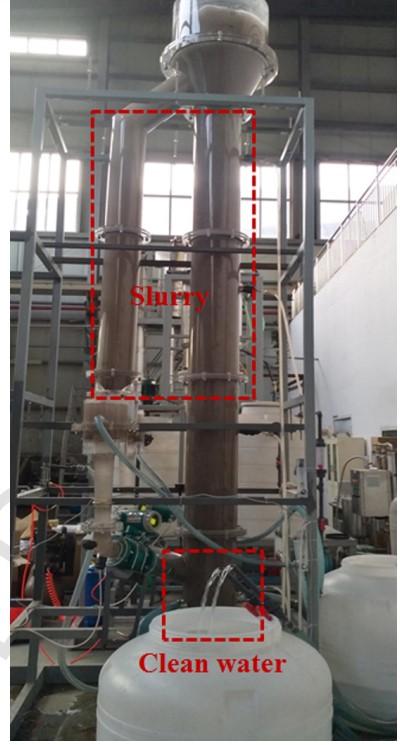 青島能源所開發外循環漿態床混合與分離過程強化反應器