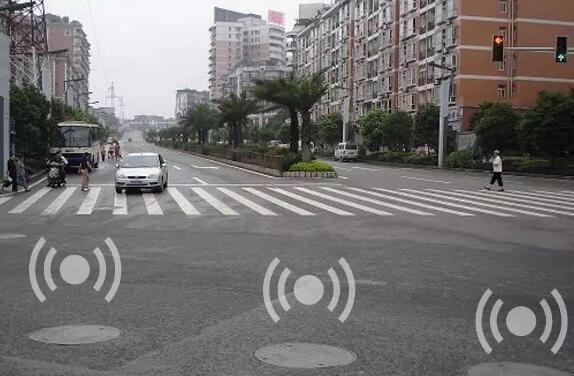 帶加速度傳感器的智能井蓋實現自動報警