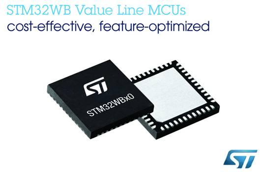 ST经济型MCU新增STM32WB无线微控制器