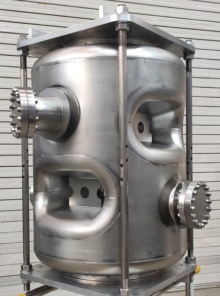 質子加速器高性能雙Spoke超導腔研制成功