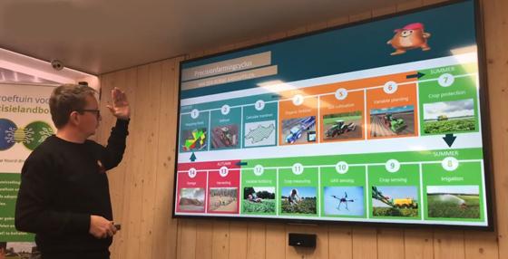 传感器技术助力荷兰农场实现精准农业