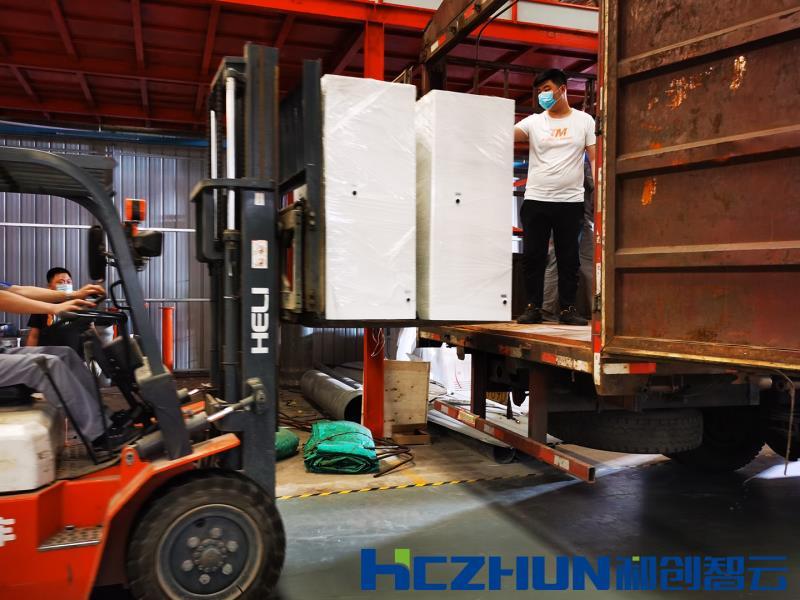 和创智云专车——陕西省35台HCCL-50一体化次氯酸钠发生