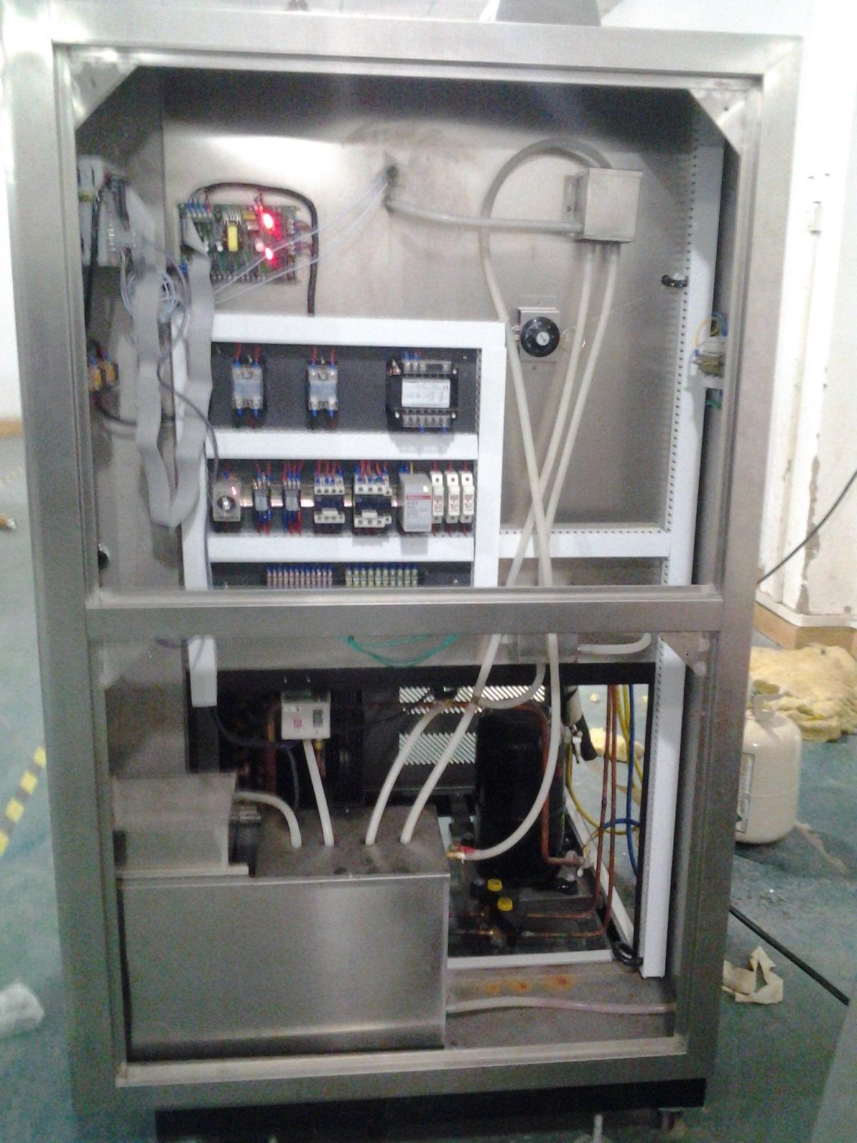高低温冲击试验箱结构图