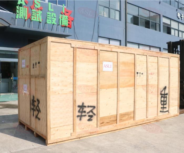 步入式快速温变试验箱木箱
